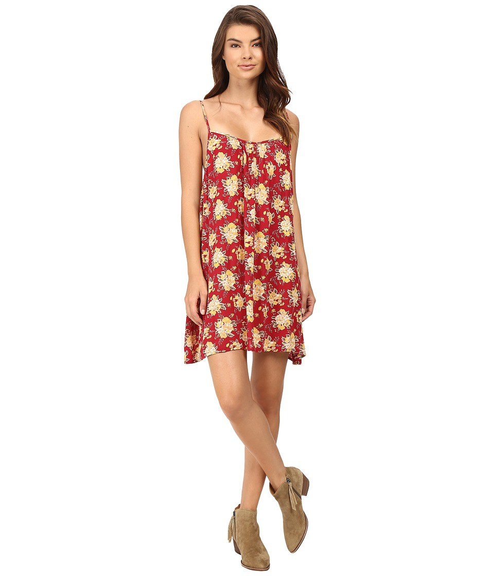 Volcom - Roadtrip Mix Dress (Brick) Women's Dress