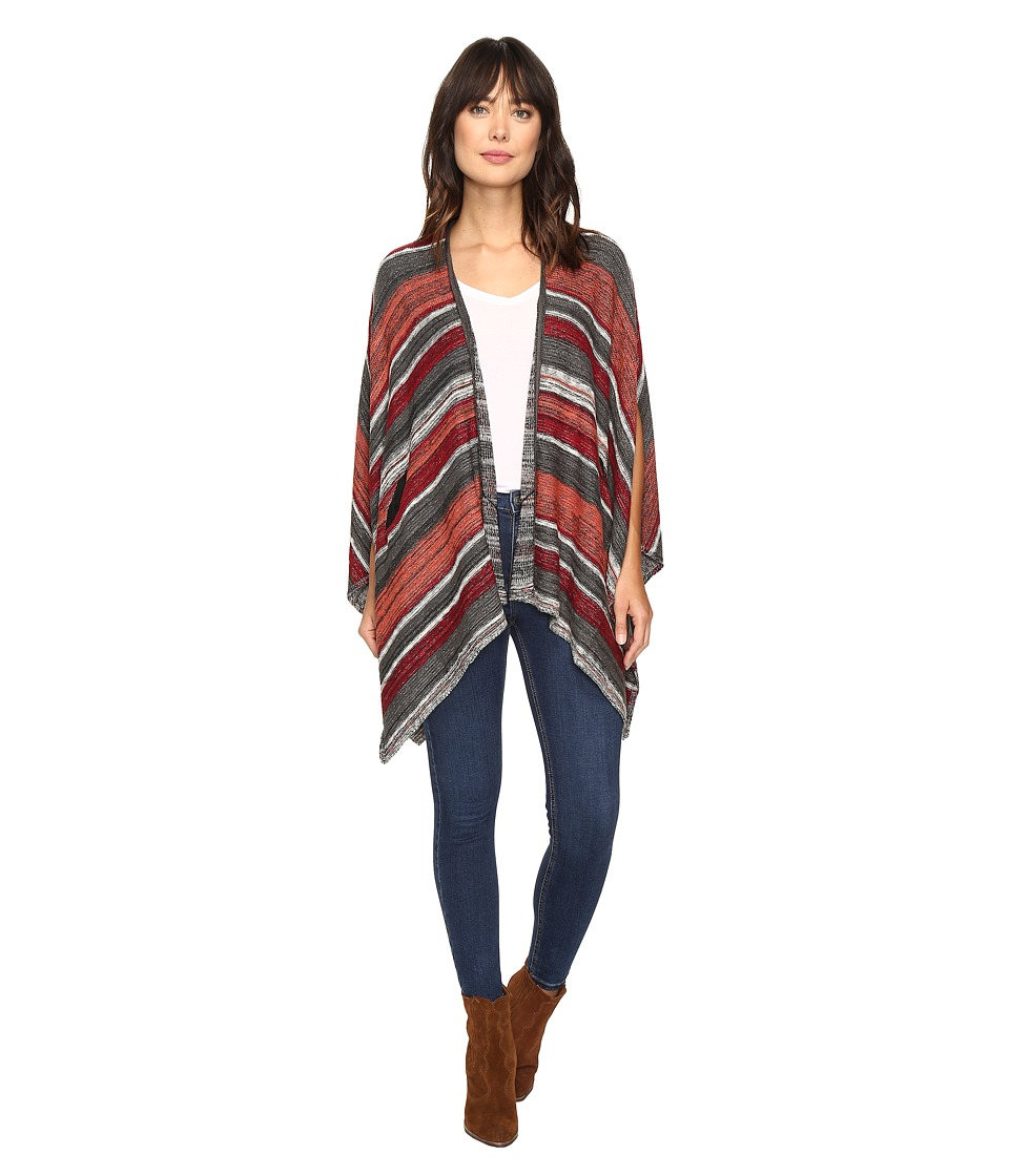 Volcom - Head Honcho Poncho (Ginger) Women's Long Sleeve Pullover