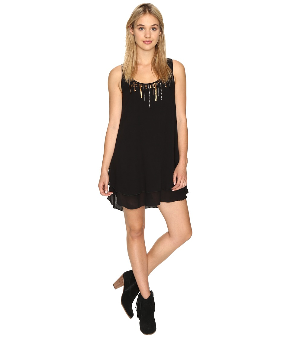 Volcom - Honey Money Dress (Black) Women's Dress