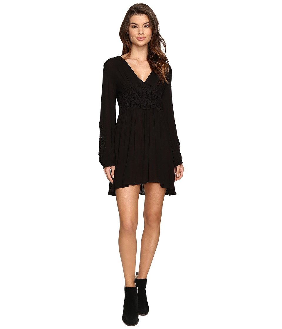 Volcom - Nitescape Dress (Black) Women's Dress