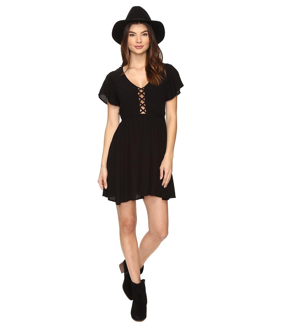 Volcom Goldn Lantern Dress (Black) Women