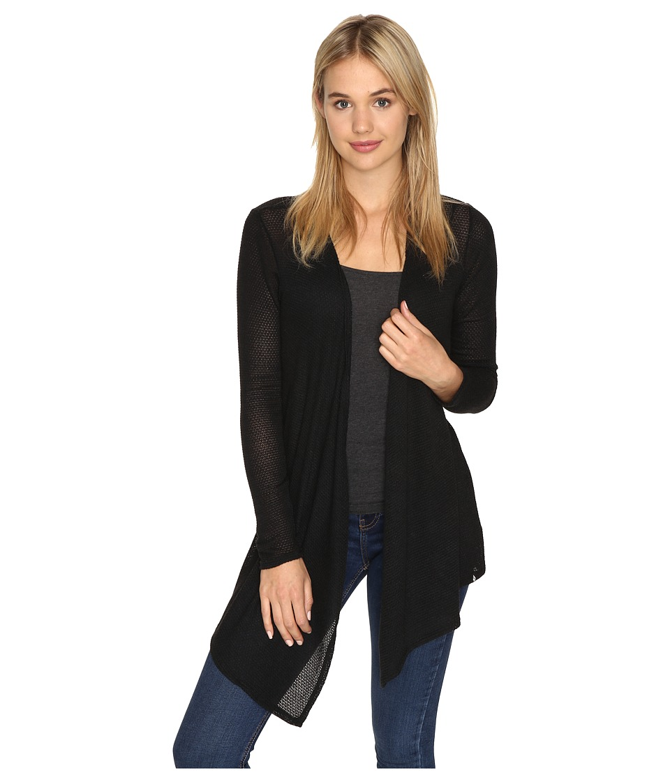Volcom - Lived In Go Wrap (Black Combo) Women's Long Sleeve Pullover
