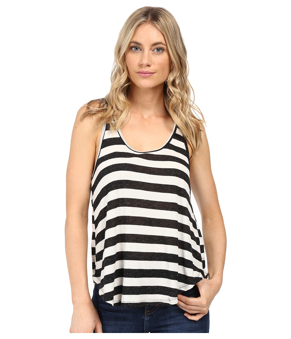 Volcom - Lived In Tank Top (Black Combo) Women's Sleeveless