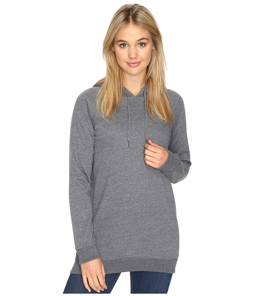 Volcom - Lived In Fleece Pullover Hoodie (Dark Navy) Women's Sweatshirt