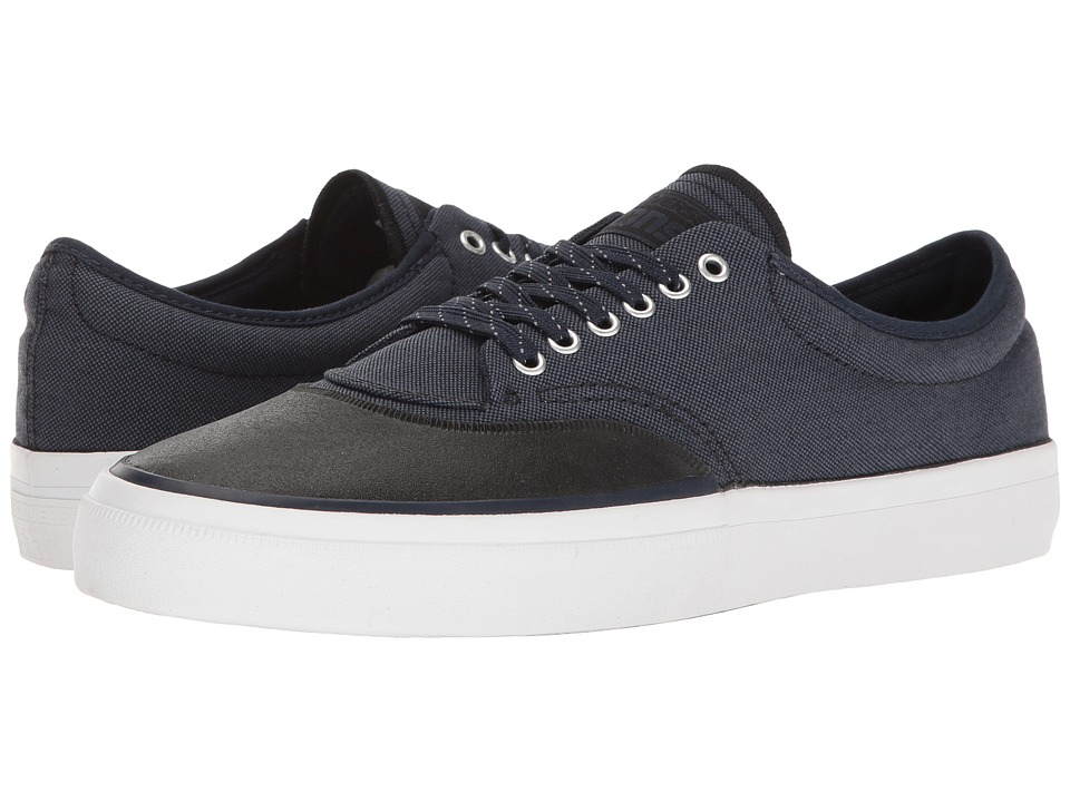 Converse Skate - Crimson Ox Woven Textile (Athletic Navy/Black/Obsidian) Men's Skate Shoes