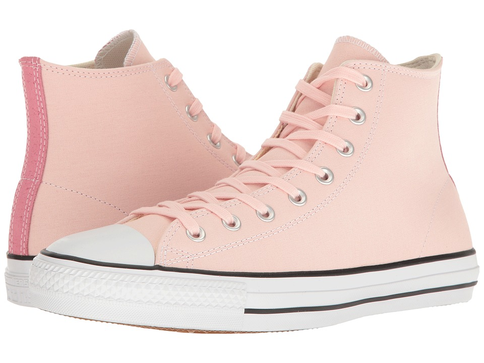 Converse - Chuck Taylor(r) All Star(r) Pro Suede Backed Canvas Hi (Vapor Pink/Pink Glow/Natural) Men's Skate Shoes