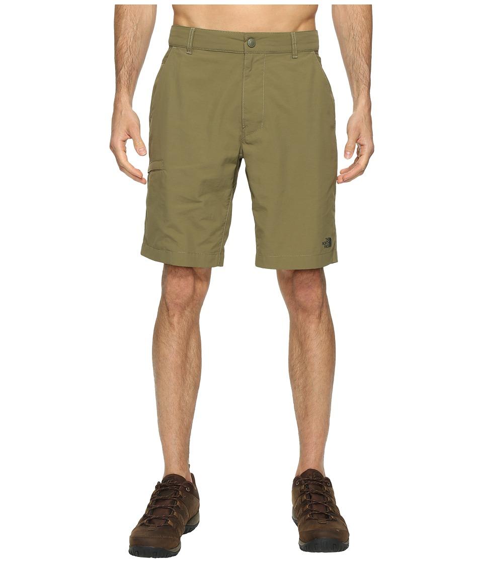 The North Face - Horizon 2.0 Shorts (Burnt Olive Green (Prior Season)) Men's Shorts