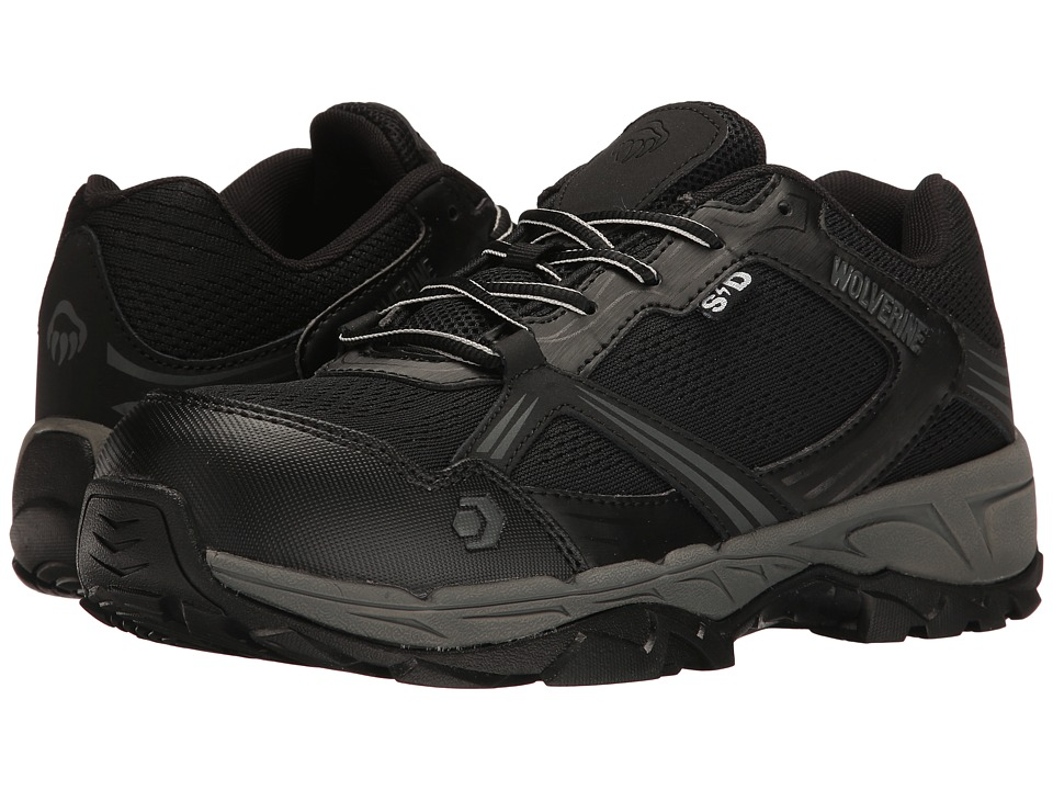 Wolverine Rush ESD Composite Toe (Black) Men