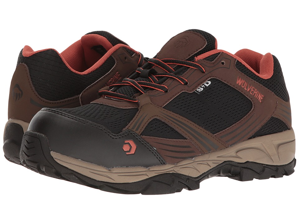 Wolverine Rush ESD Composite Toe (Brown/Black) Men
