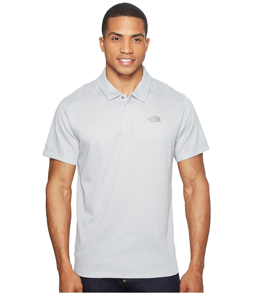 The North Face - Short Sleeve Crag Polo (TNF Light Grey Heather (Prior Season)) Men's Short Sleeve Knit