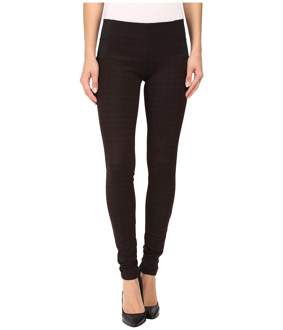 KUT from the Kloth - Joan Pull-On Skinny Pants in Brown Black (Black/Brown) Women's Jeans