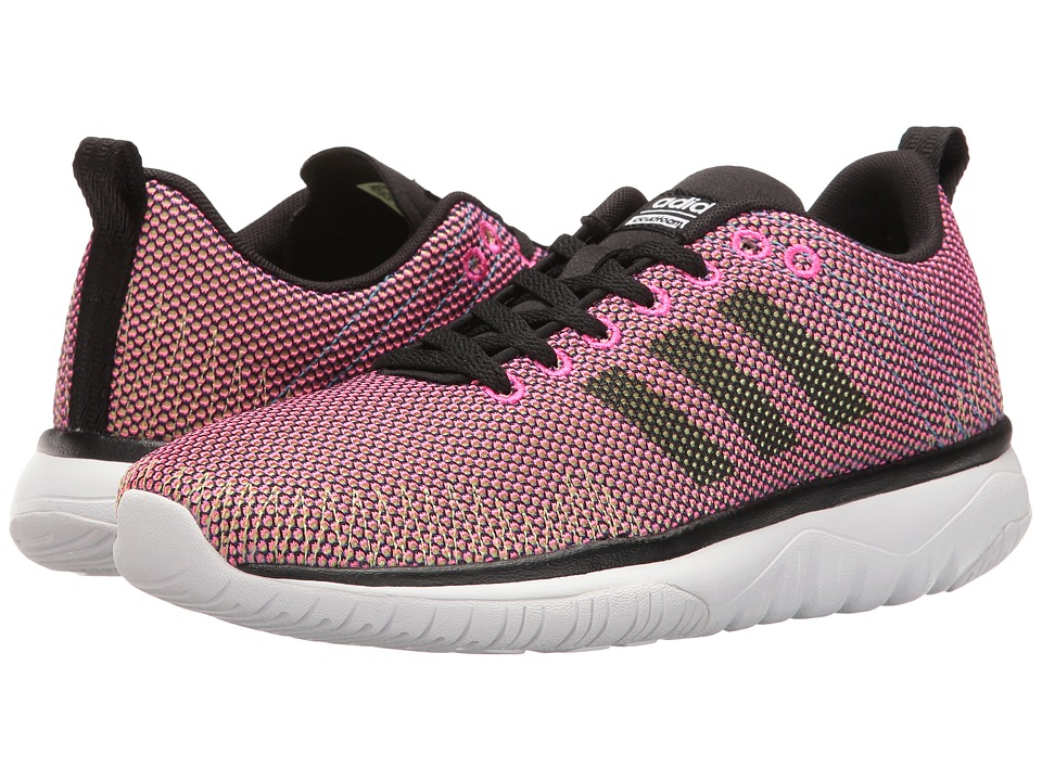 adidas - Cloudfoam Super Flex (Shock Pink/Black/White) Women's Running Shoes