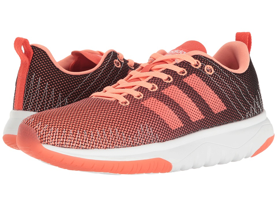 adidas - Cloudfoam Super Flex (Sun Glow/Easy Coral/Footwear White) Women's Running Shoes