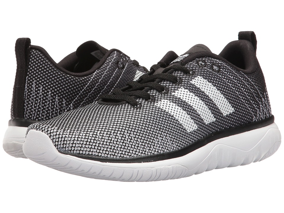 adidas - Cloudfoam Super Flex (Solid Grey/Black/White) Women's Running Shoes