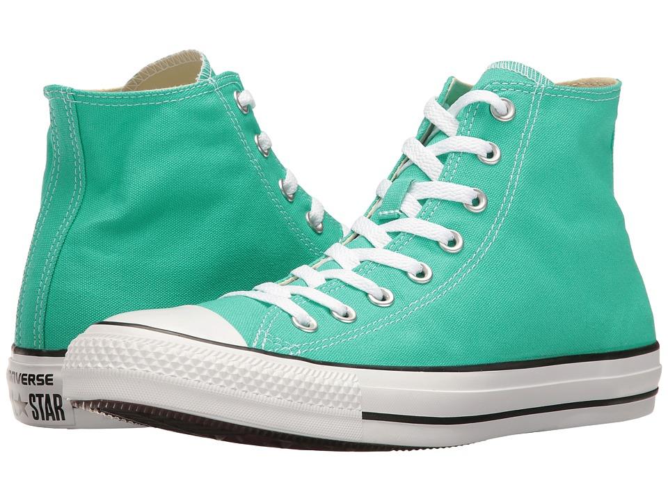 Converse Chuck Taylor All Star Seasonal Color Hi (Menta) Lace up casual Shoes