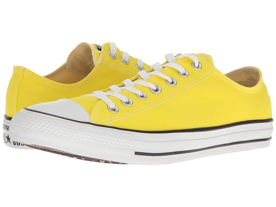 Converse Chuck Taylor All Star Seasonal OX (Fresh Yellow) Athletic Shoes