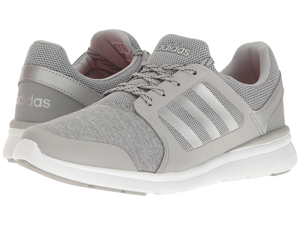 adidas - Cloudfoam Xpression (Clear Onix/Matte Silver/White) Women's Running Shoes