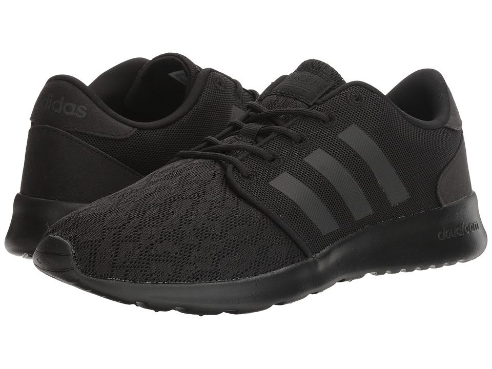 adidas Cloudfoam QT Racer (Black/Black/White) Women