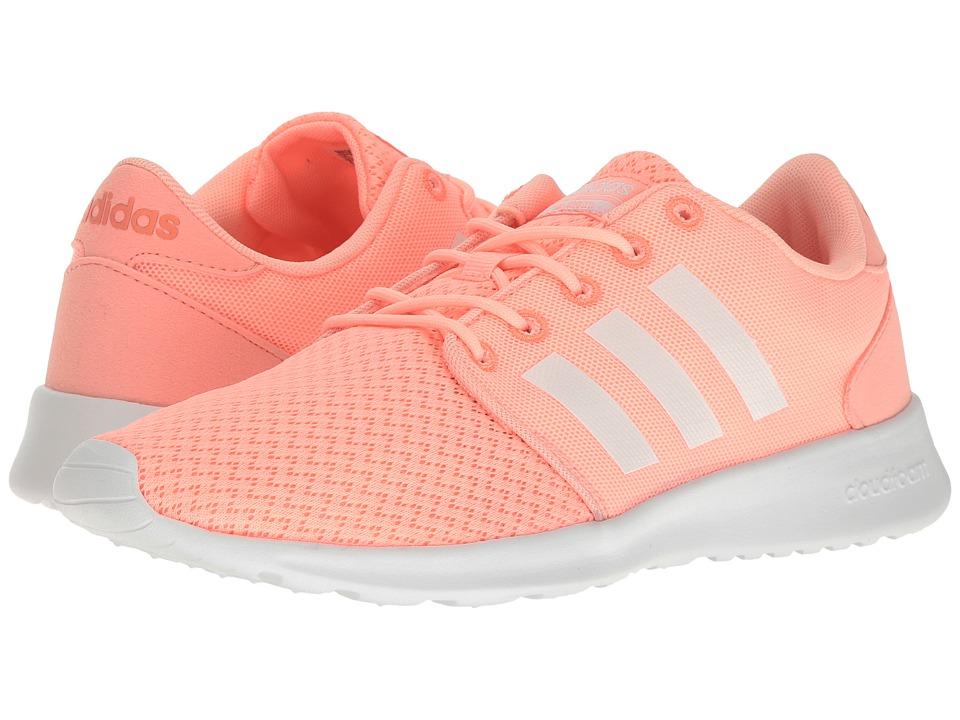 adidas Cloudfoam QT Racer (Haze Coral/White/Sun Glow) Women