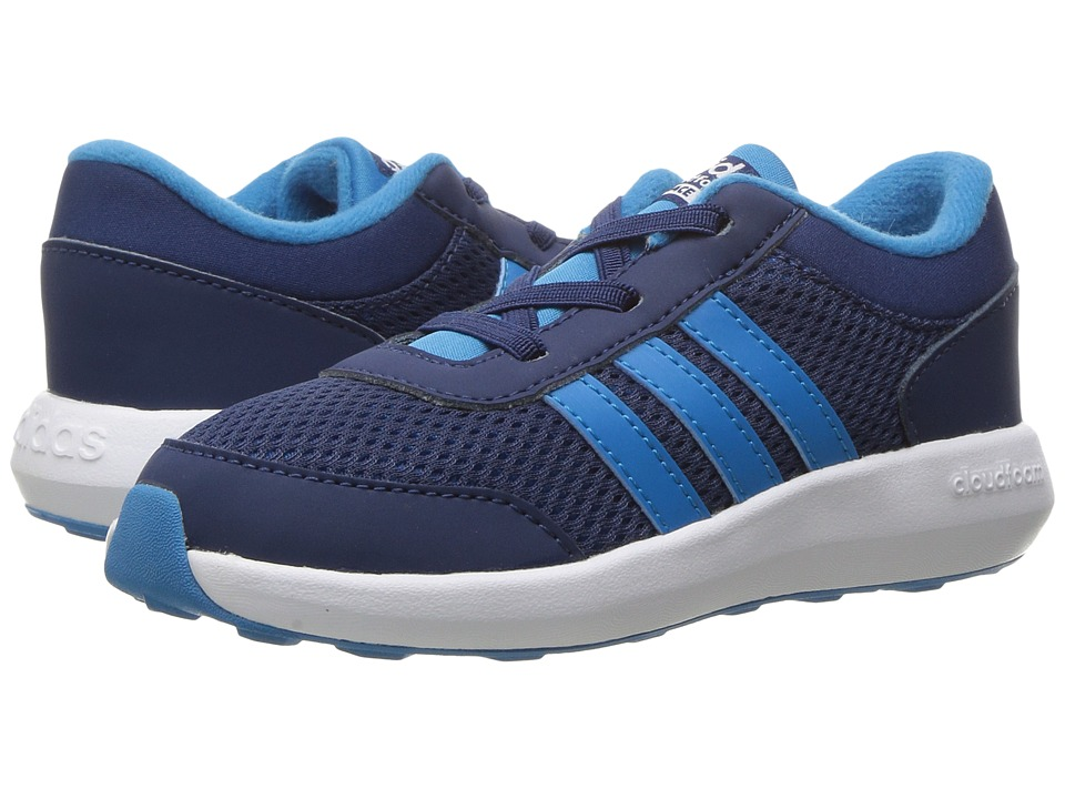 adidas Kids - Cloudfoam Race (Infant/Toddler) (Blue/Solar Blue/White) Boys Shoes