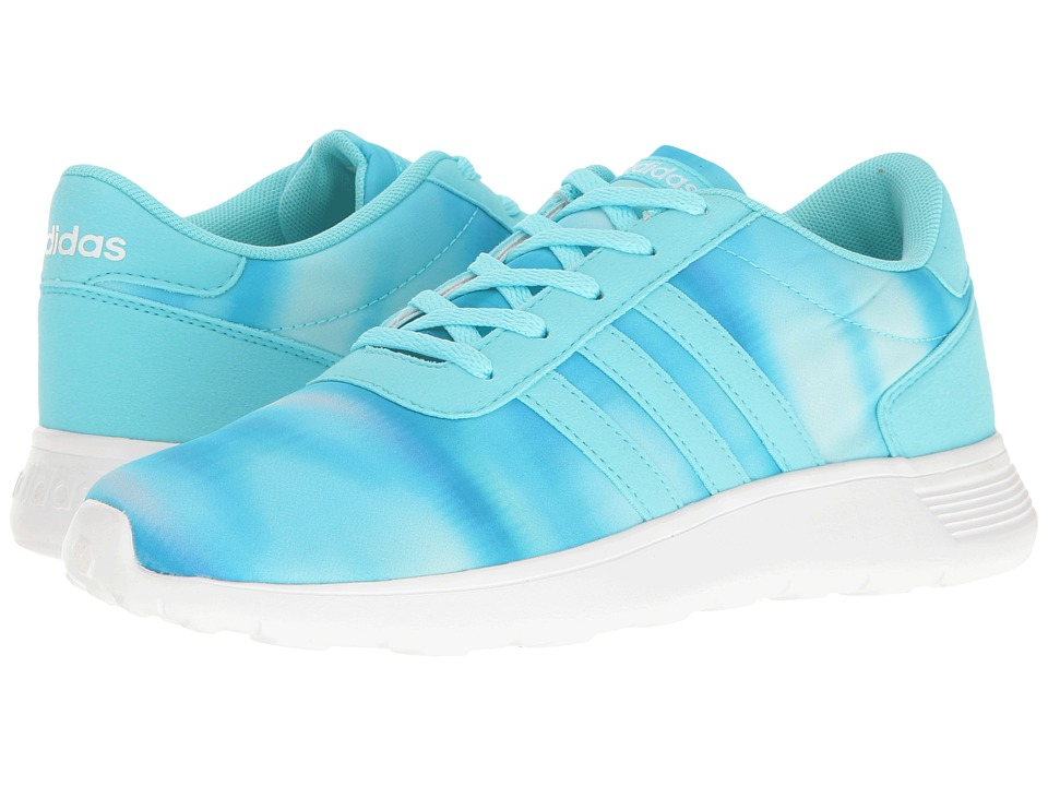 adidas Kids - Lite Racer (Little Kid/Big Kid) (Clear Aqua/Clear Aqua/White) Girl's Shoes