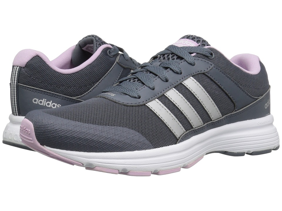 adidas - Cloudfoam VS City (Onix/Silver/Light Orchid) Women's Running Shoes
