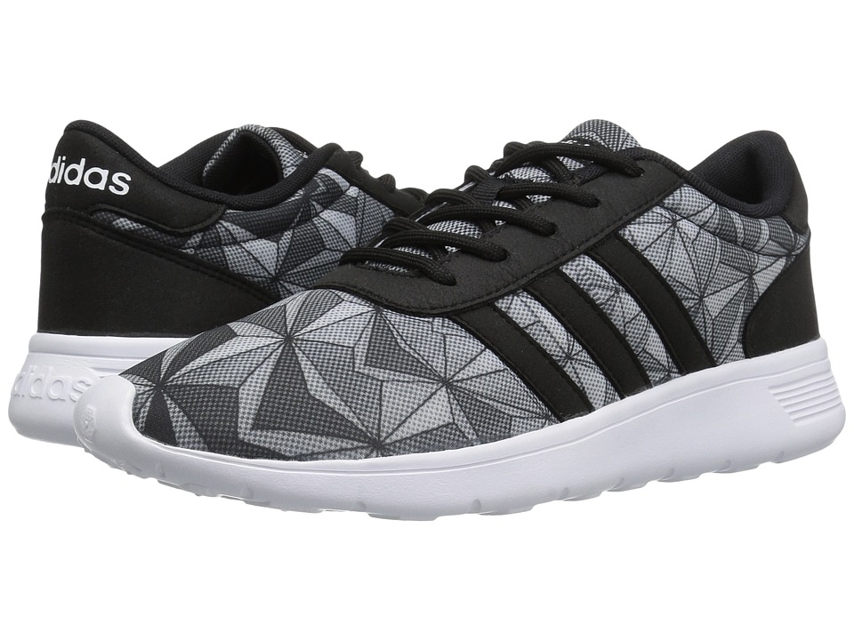 adidas - Lite Racer (Black/White Mesh) Women's Shoes