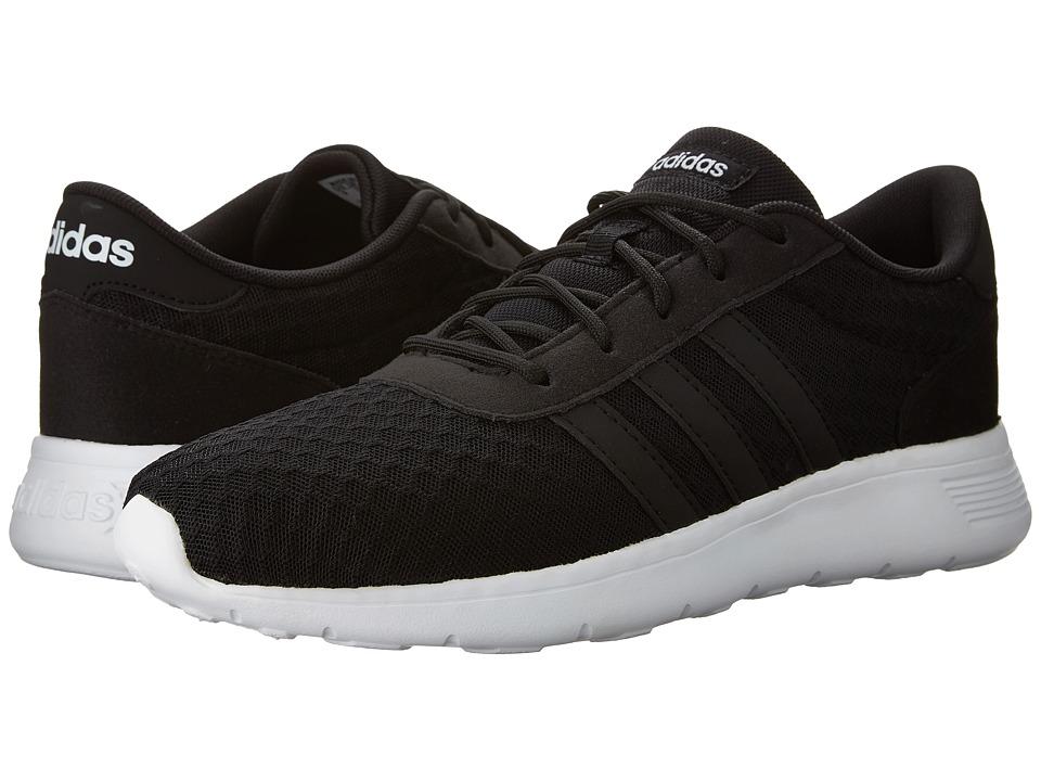 adidas Lite Racer (Black/White Textile) Women