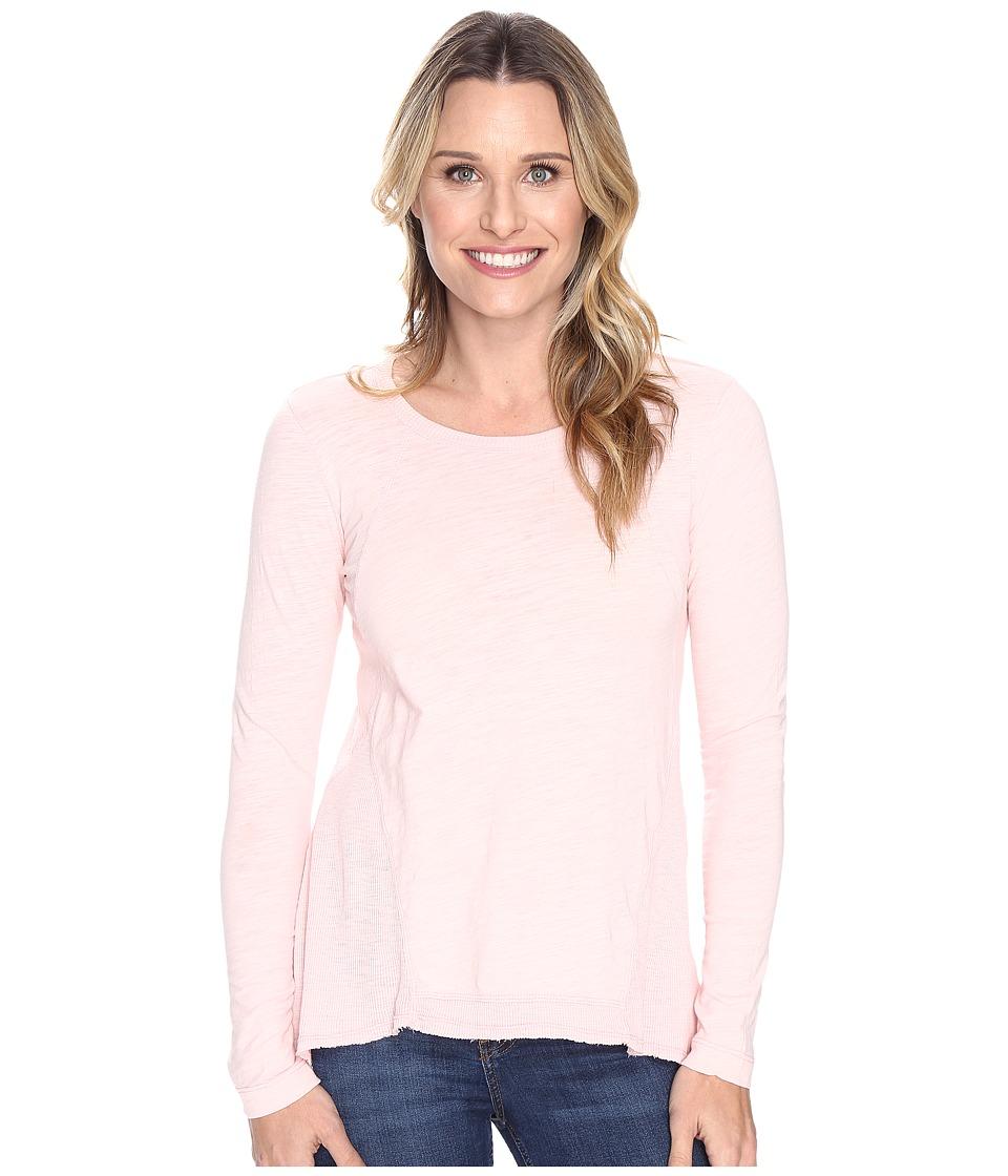 Mod-o-doc - Slub Jersey Seamed Tee w/ Contrast Rib (Princess) Women's T Shirt