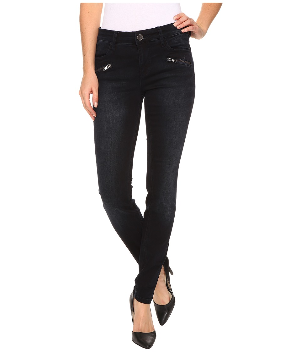KUT from the Kloth - Moto Skinny Jeans in Preperation w/ Euro Base Wash (Preperation/Euro Base Wash) Women's Jeans