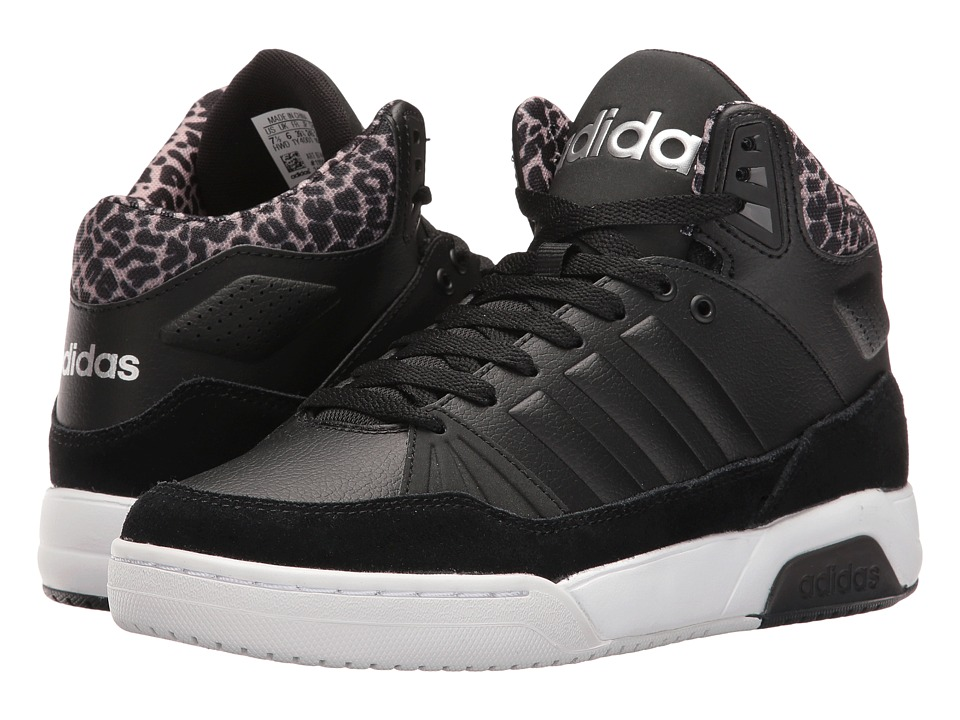 adidas - Play9Tis (Black/Black/Silver) Women's Shoes