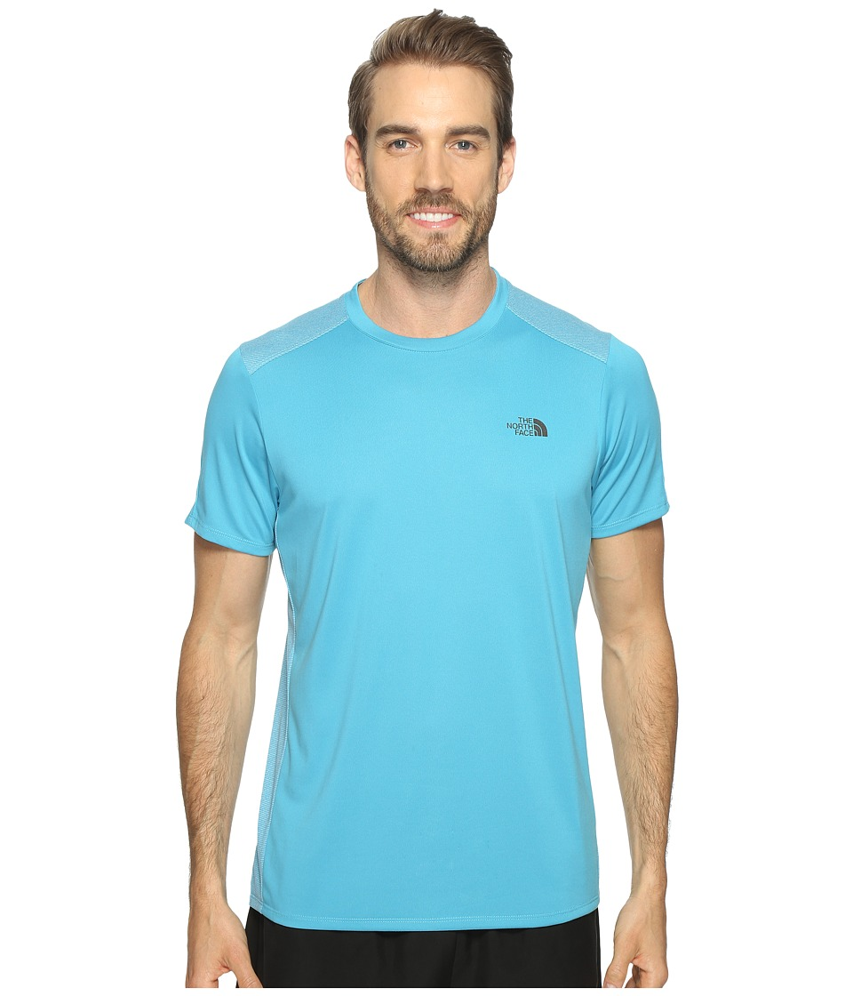 The North Face Versitas Short Sleeve Crew (Blue Moon (Prior Season)) Men