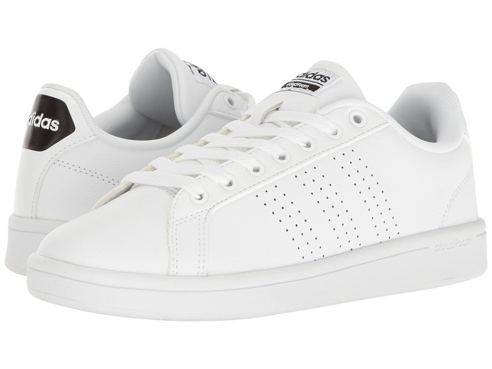 adidas - Cloudfoam Advantage Clean (White/Black) Women's Court Shoes