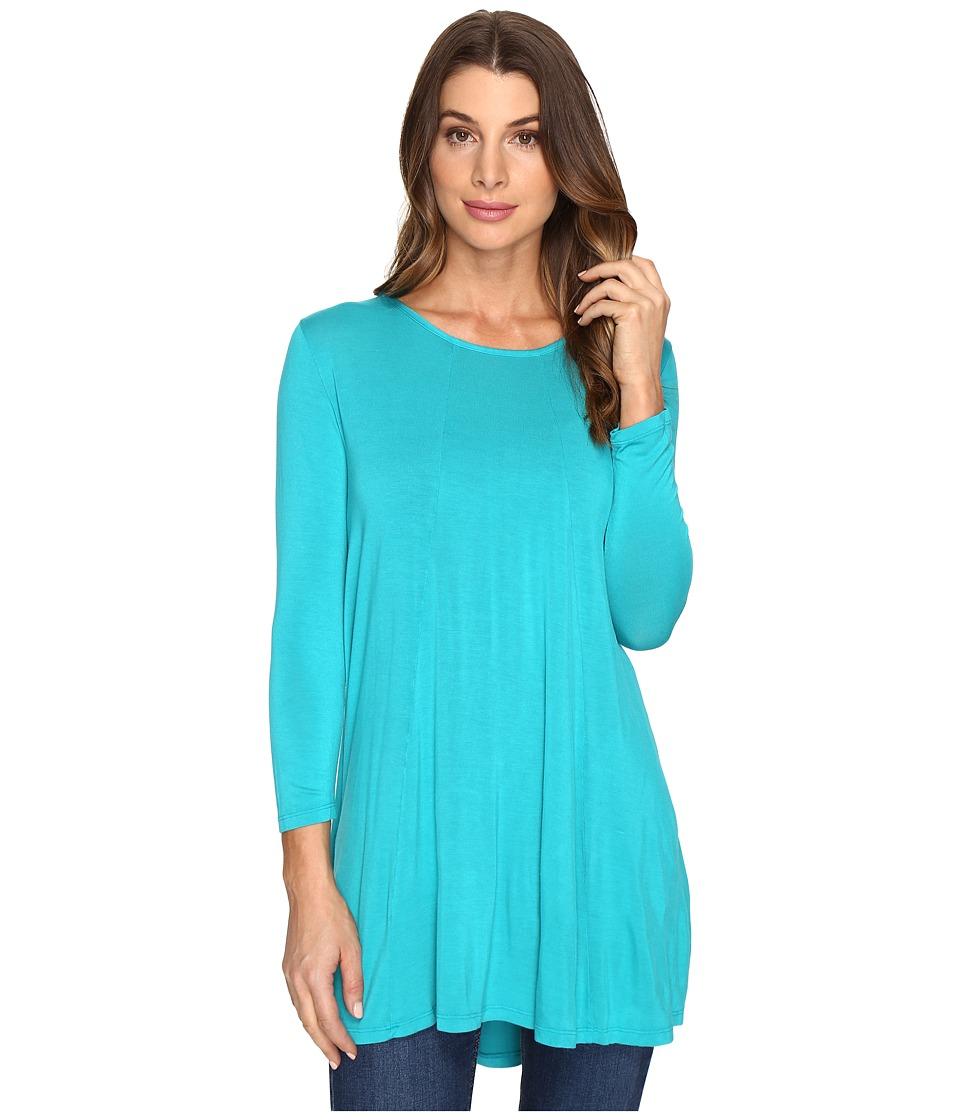 Mod-o-doc - Rayon Spandex Jersey Keyhole Back Tunic (Seaside) Women's Clothing