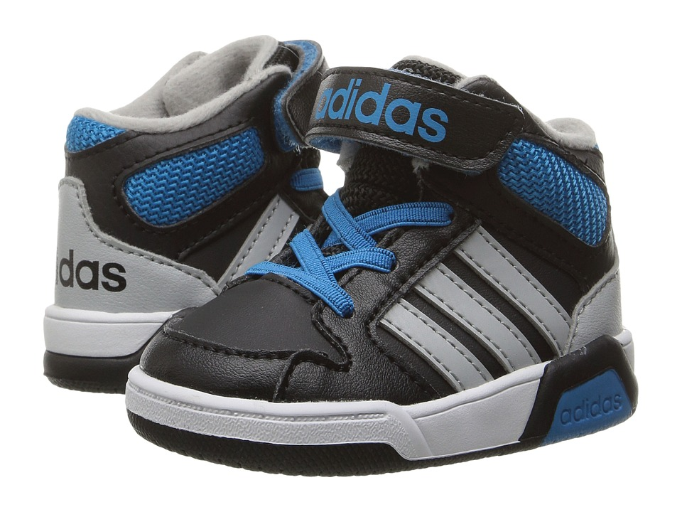 adidas Kids - BB9TIS (Infant/Toddler) (Black/Clear Onix/Solar Blue) Boys Shoes