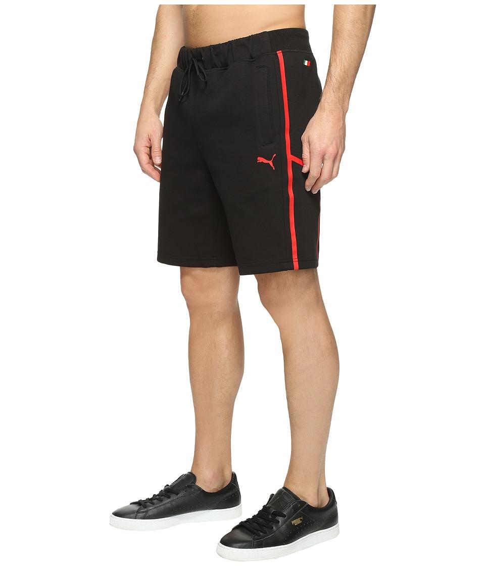 PUMA - SF Sweat Bermudas (Cotton Black) Men's Shorts