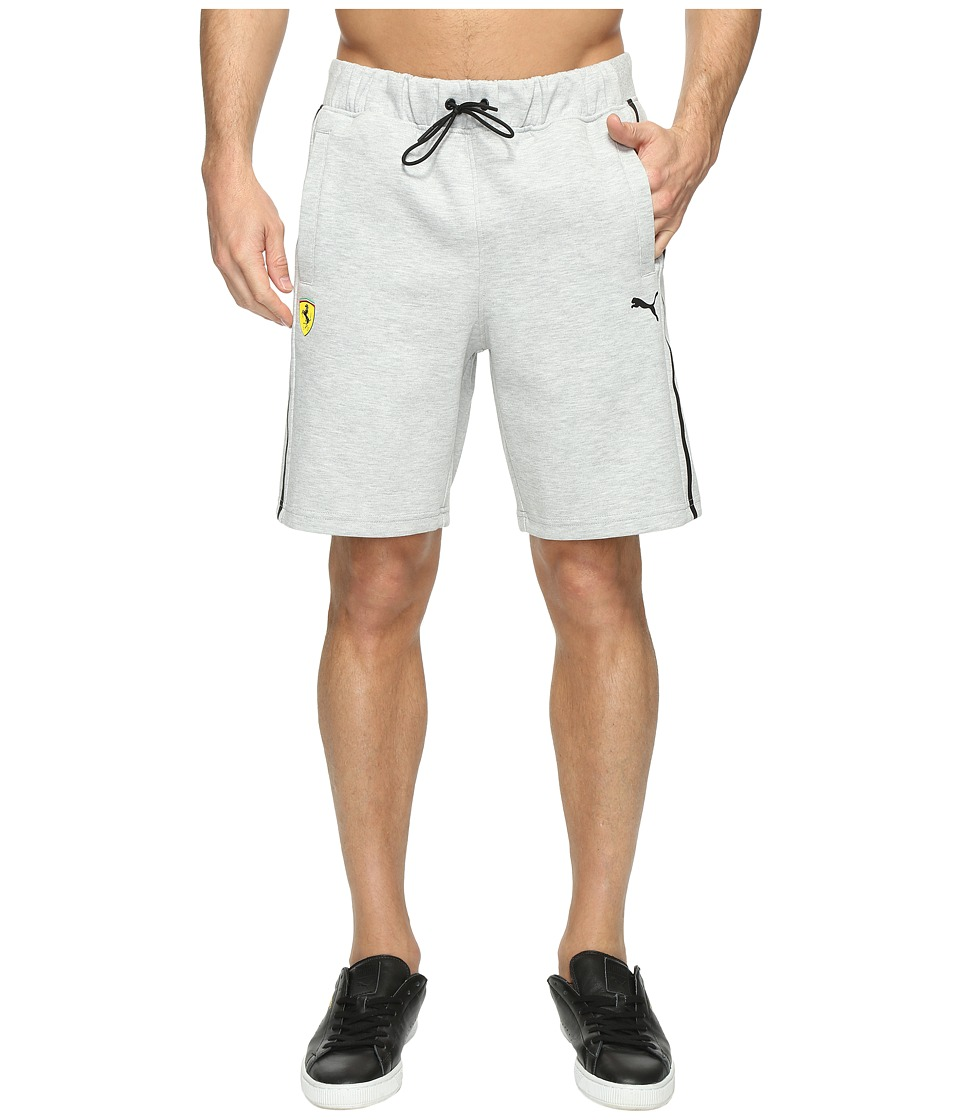 PUMA - SF Sweat Bermudas (Light Gray Heather) Men's Shorts