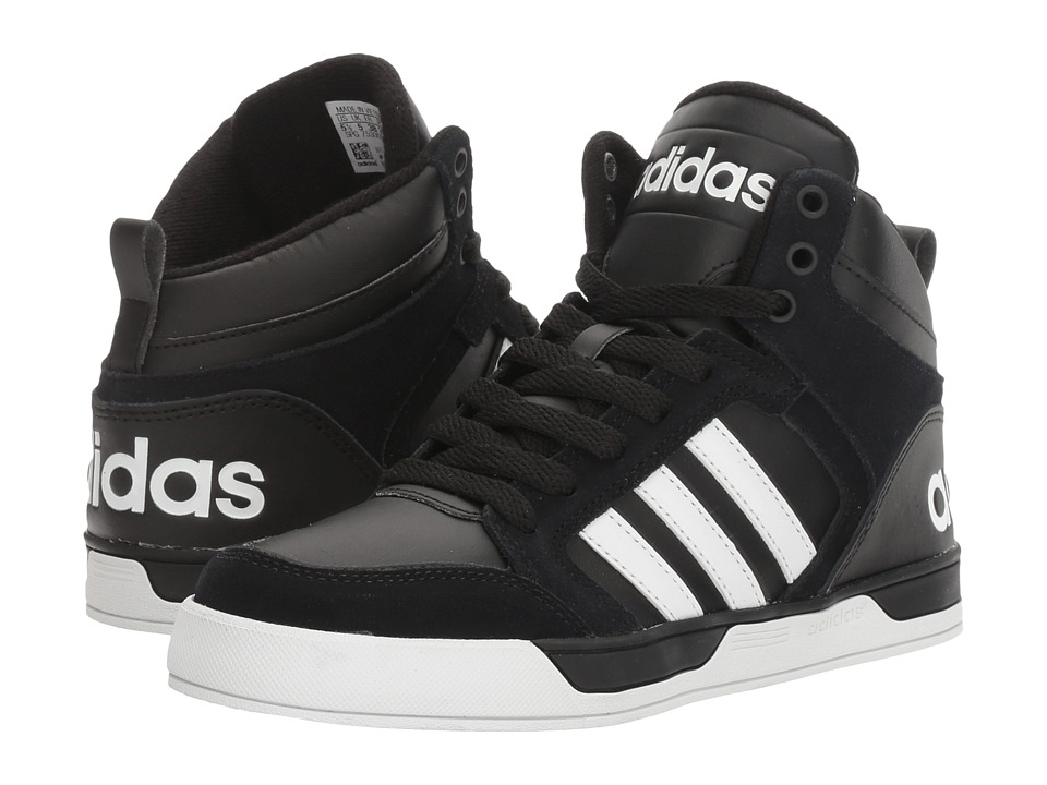adidas Kids Cloudfoam Raleigh 9TIS (Little Kid/Big Kid) (Black/White) Kids Shoes