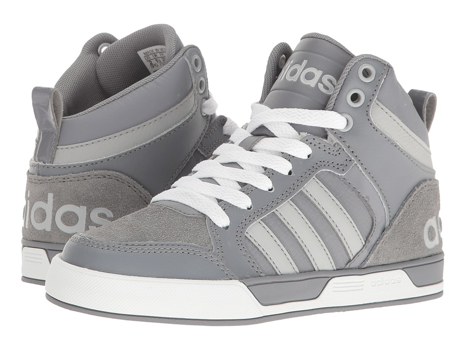 adidas Kids - Cloudfoam Raleigh 9TIS (Little Kid/Big Kid) (Grey/Clear Onix/Grey) Kids Shoes