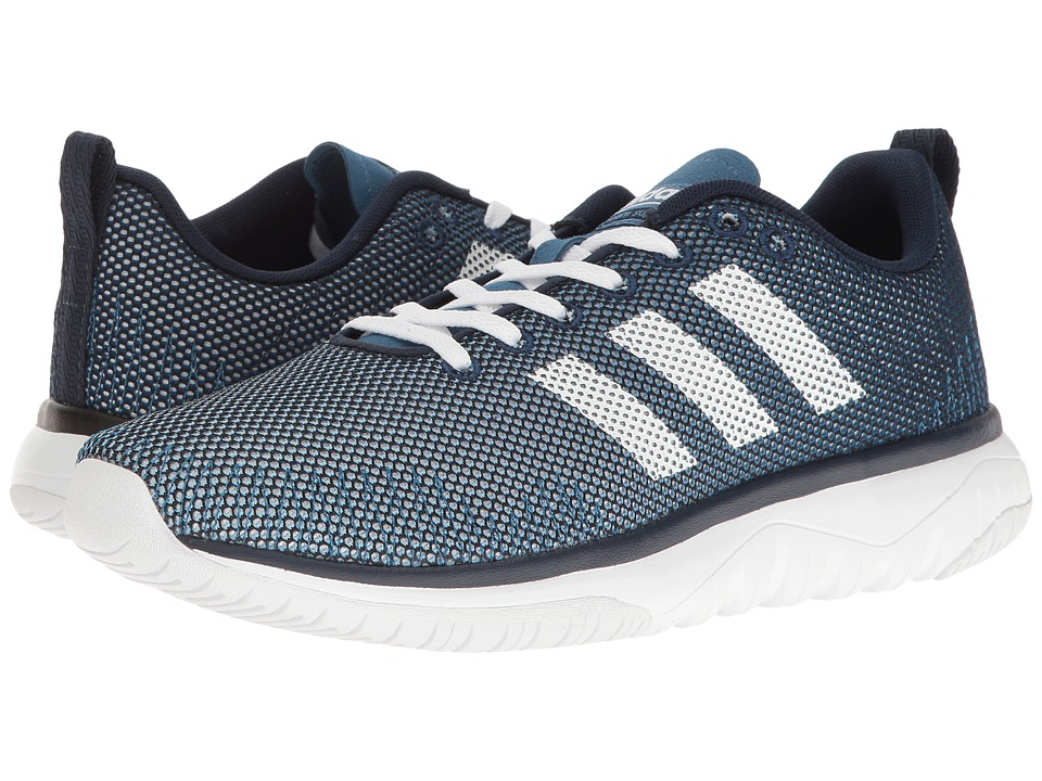 adidas - Cloudfoam Super Flex (Navy/White/Blue) Men's Running Shoes