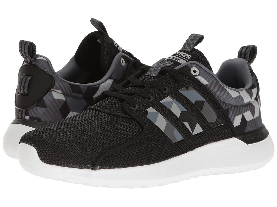 adidas - Cloudfoam Lite Racer (Black/Onix/Solid Grey) Men's Running Shoes