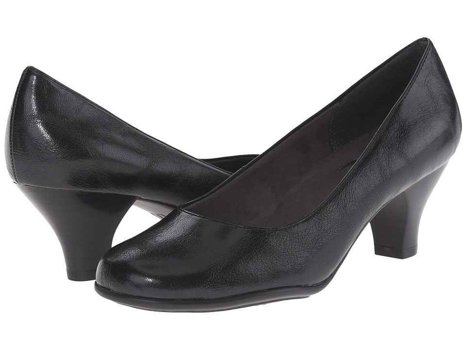 A2 by Aerosoles - Wise Guy (Black Soft) Women's 1-2 inch heel Shoes