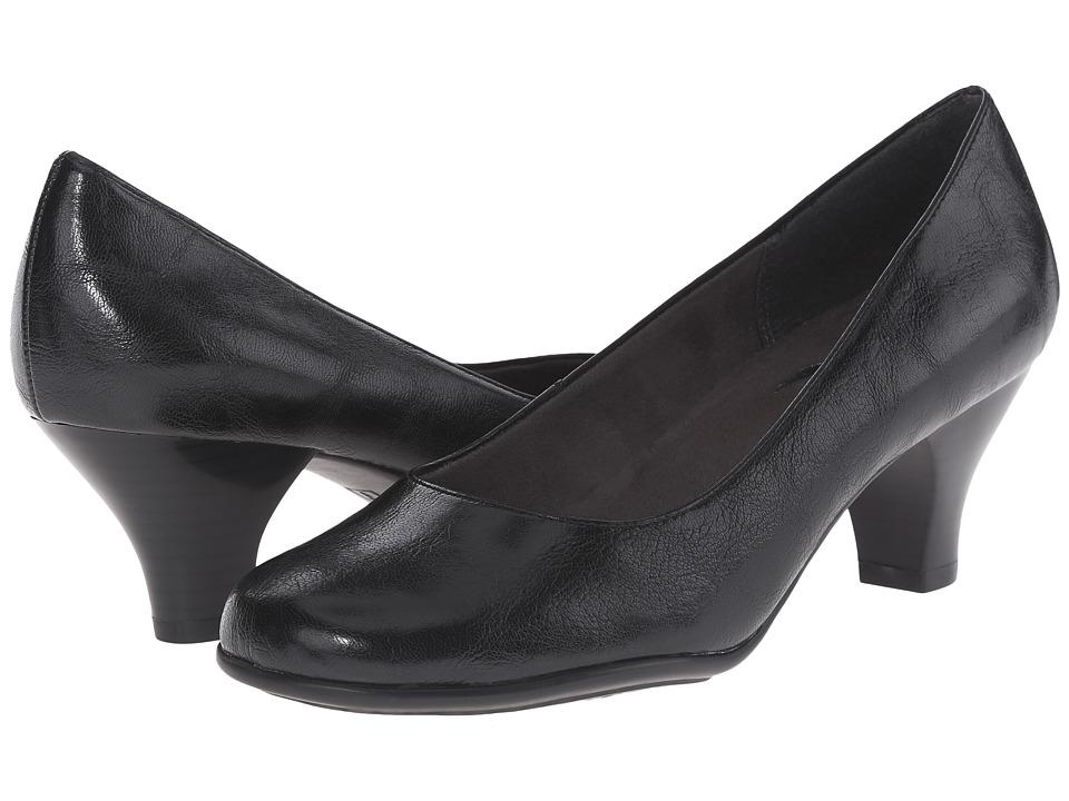 A2 by Aerosoles - Wise Guy (Black Soft) Women's 1-2 inch heel Shoes
