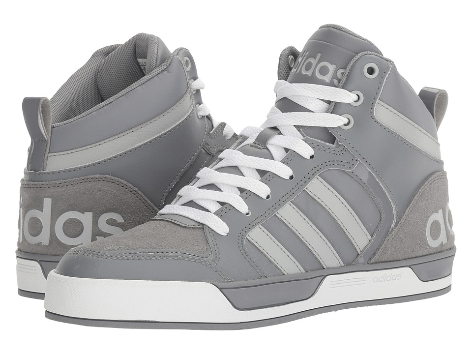 adidas - Raleigh 9TIS (Grey/Clear Onix/Grey/White) Men's Basketball Shoes
