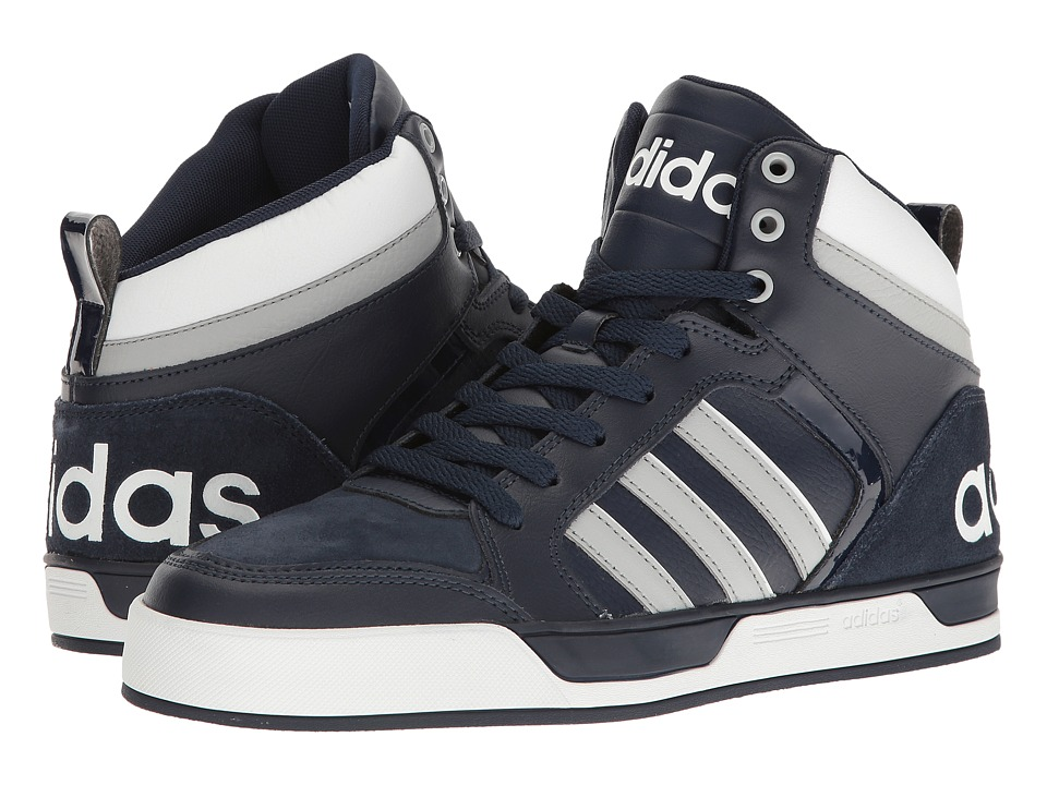 adidas - Raleigh 9TIS (Navy/Clear Onix/White) Men's Basketball Shoes