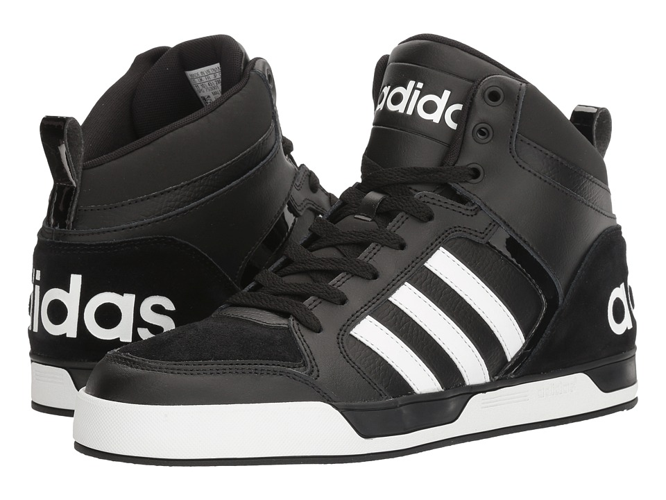 adidas - Raleigh 9TIS (Black/White) Men's Basketball Shoes