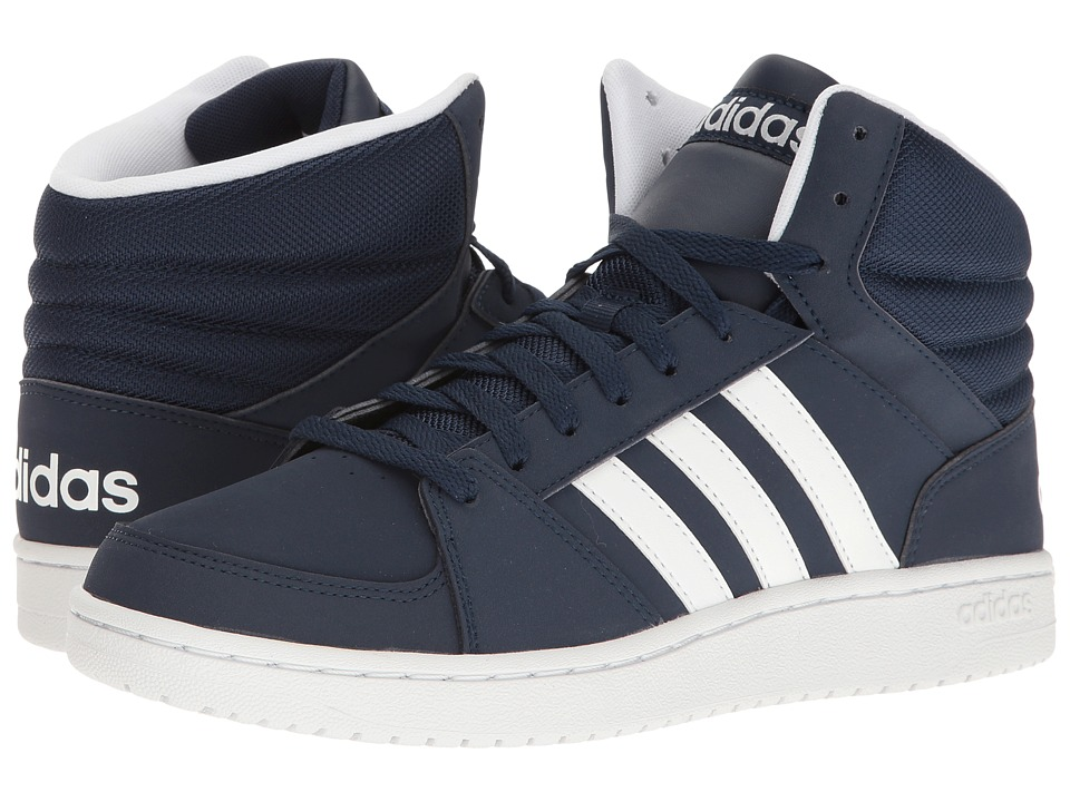adidas - Hoops VS Mid (Navy/White) Men's Shoes