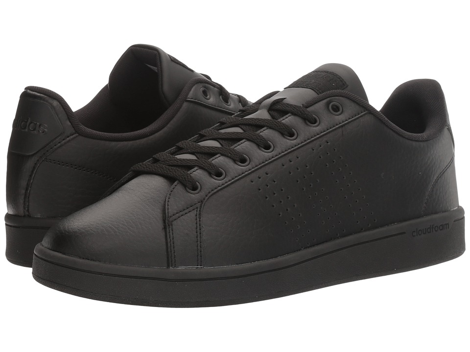 adidas - Cloudfoam Advantage Clean (Black/White) Men's Court Shoes
