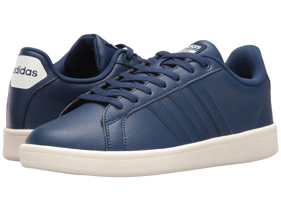 adidas - Cloudfoam Advantage Stripes (Mystery Blue/White) Men's Court Shoes