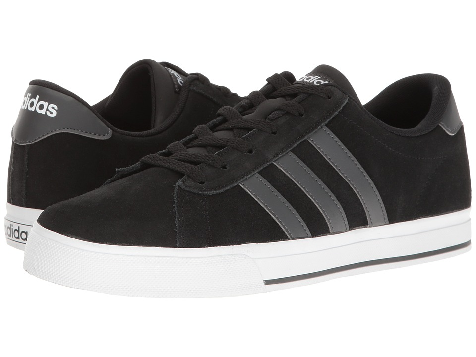 adidas Daily (Black/Solid Grey/White) Men